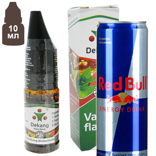 Рэд Бул | RedBull (Energy Cow, Toro Rouge) 10мл · DK