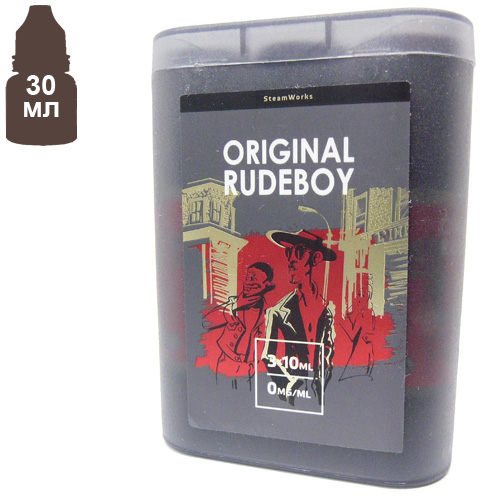 Жидкость Steamworks Original Rudeboy 30мл